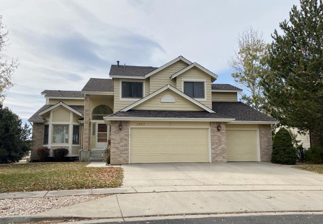 Longmont, CO - This designer shingle roof in Longmont is a CertainTeed Presidential Shake roof.  The color of the shingles is Autumn Blend.