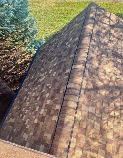 Longmont, CO - We installed a new CertainTeed Northgate Class IV Impact Resistant roof on this home in Longmont.  The color of the shingles is Resawn Shake.