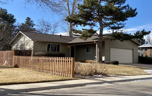Fort Collins, CO - This roof in Fort Collins is a new CertainTeed Northgate Class IV Impact Resistant roof.  The shingle color that the homeowner chose is Heather Blend.  This roof is ready for hail season!