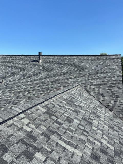 Loveland, CO - Granite Gray is the color of these CertainTeed Northgate Class IV Impact Resistant shingles that we installed on this roof in Loveland that was hit with hail.
