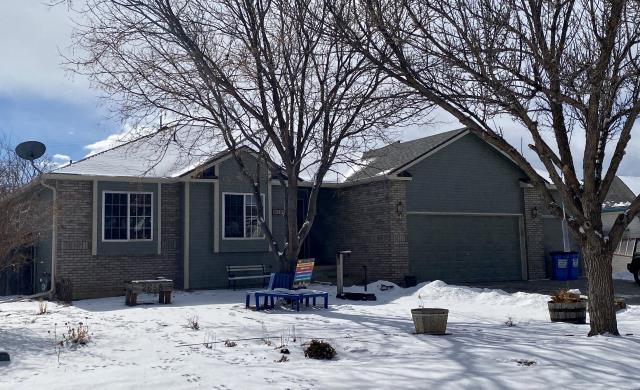 Mead, CO - I went to take a picture of this roof we just completed in Mead and there was a lot of snow on there.  Makes it hard to see the CertainTeed Northgate Class IV Impact Resistant shingles that we installed on there.