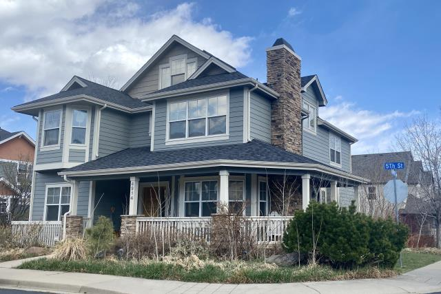 Boulder, CO - This home in Boulder has a new CertainTeed Northgate Class IV Impact Resistant roof installed on it in the color Moire Black.