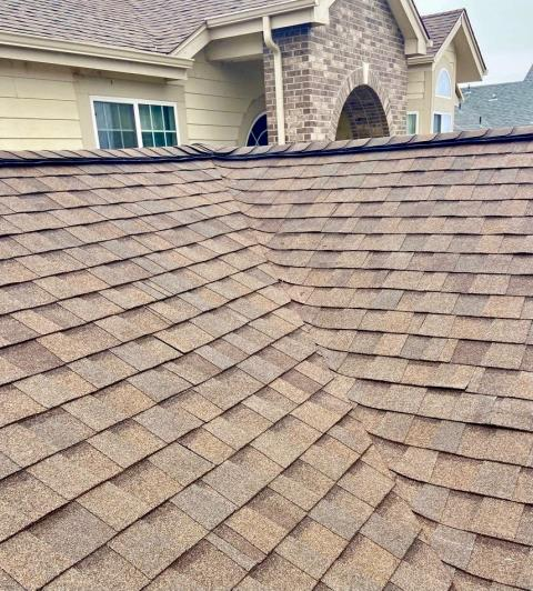 Longmont, CO - Heather Blend is the color of this CertainTeed Landmark roof that we installed in Longmont this past year.