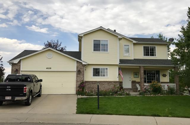 Loveland, CO - This is a home we roofed in Loveland.  The shingles that we installed are from the GAF Timberline HD line of shingles and the color of the shingles is Pewter Gray.