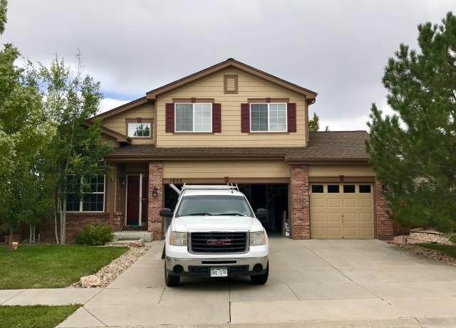 Erie, CO - We have been doing a lot of work down in Erie lately.  It is strange how it will go in sprees, which areas we are in.  This home was re-roofed with Barkwood shingles from the GAF Timberline HD line of shingles.