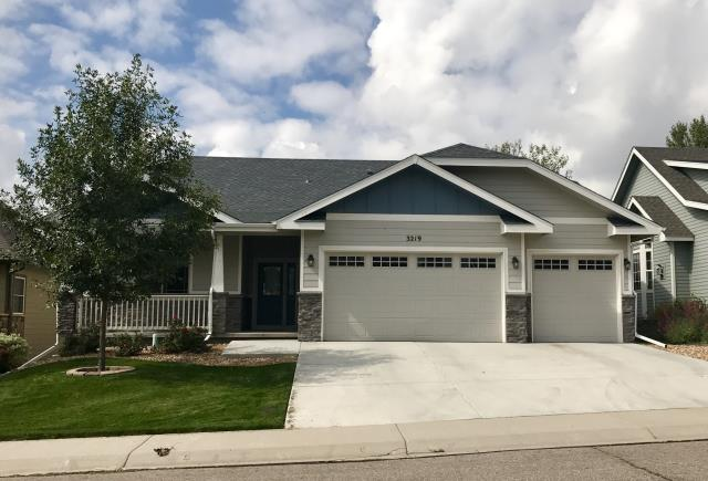 Greeley, CO - The west side of Greeley was hit with a lot of hail this summer.  A lot of newer homes ended up needing new roofs.  Here is one we re-roofed.  The color of the shingles is Pewter Gray and the shingles are GAF Timberline HD shingles.