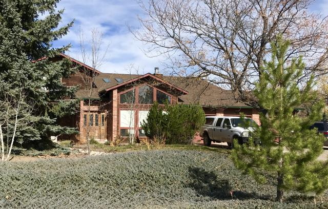 Loveland, CO - This home on the south side of Loveland has a new GAF Timberline HD roof on it that we installed.  The color of the shingles is Barkwood.
