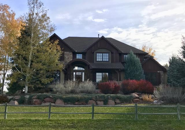 Fort Collins, Colorado - This is a home in the southern part of Fort Collins over closer to Windsor that we re-roofed recently.  The shingles that the customer chose are GAF Timberline HD Ultras.  Ultras are a thicker version of the Timberline HD shingles and look really nice on this home.  The color chosen was Barkwood.
