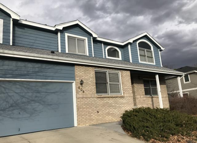 "Fort Collins, CO - This home in Fort Collins was in need of new gutters.  We installed new 5"" seamless aluminum gutters and new downspouts for this customer.  They are ready for some weather!"