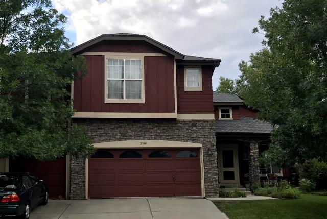 Erie, CO - We recently re-roofed this home in Erie using GAF Timberline HD shingles in the color Pewter Gray.