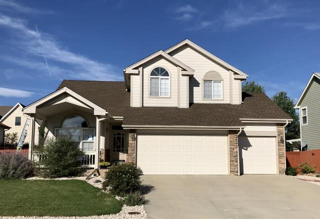 Frederick, CO - This home in Frederick has new GAF Timberline HD shingles installed on the roof in the color Barkwood.