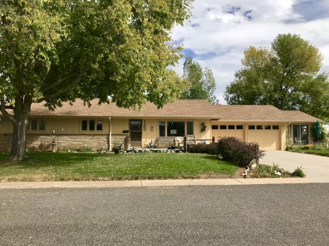 Fort Collins, CO - This is a customer up in Fort Collins that was hit with hail.  We did some work for her a few years ago so she called us again.  We installed GAF Timberline HD shingles in the color Shakewood for her.