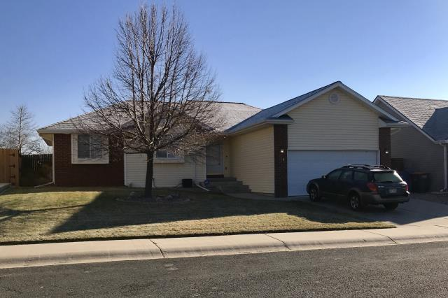 Firestone, CO - This is a home in Firestone that we recently re-roofed due to hail damage.  We installed GAF Timberline HD shingles in the color Pewter Gray.