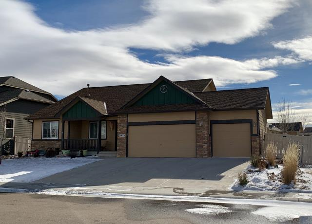 Firestone, CO - We re-roofed this home in Firestone using GAF Timberline HD shingles in the color Shakewood.