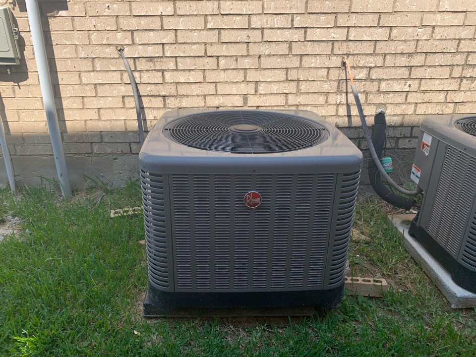 Fort Worth, TX - A homeowner in Keller called complaining that the air conditioner was blowing but not cooling. We arrived to find a 4 year old Rheem gas HVAC system with the indoor unit running and the condenser not running. Upon further investigation we found that there was no call for cool on the outdoor unit. We troubleshot the furnace control board and found that the 3amp fuse had blown. We tested the system for a short and was not able to duplicate the issue. We replaced the furnace control board fuse for the ac repair and left the system cooling and operational.