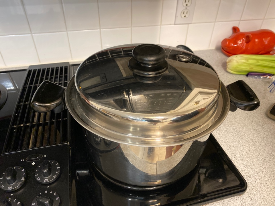 Nederland, TX - Holly is cooking red beans and rice