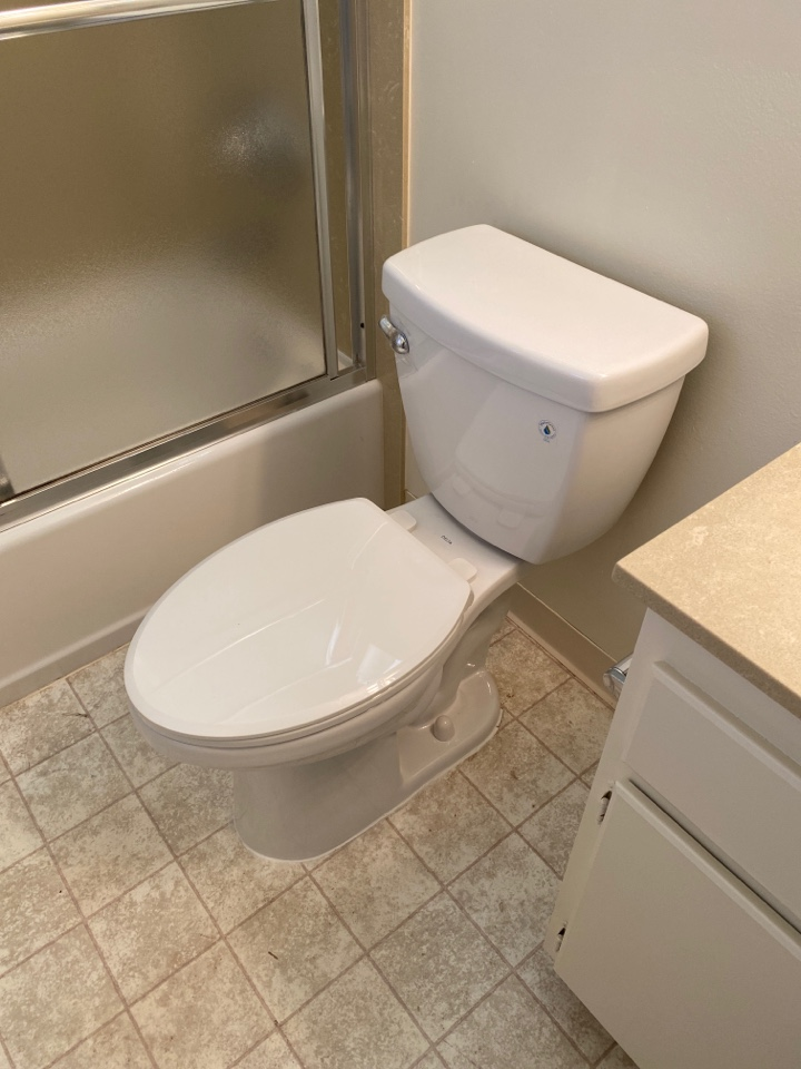 Sunnyvale, CA - Installed new delta toilet for client