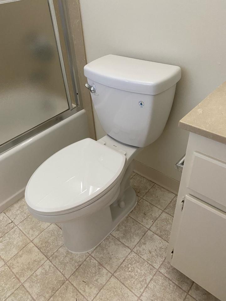 Sunnyvale, CA - Installed new toilet