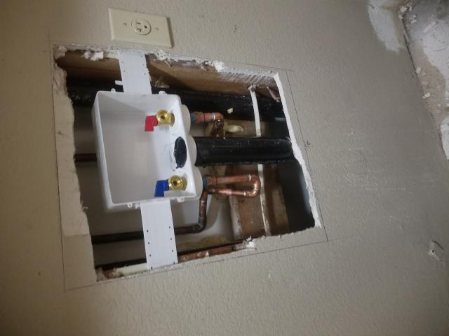 Tracy, CA - Robert was in need of an immediate repair due to his laundry box valve being broken, we rushed right over and were able to install a new one for him