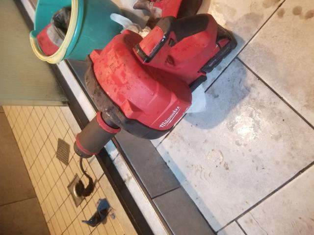 Tracy, CA - We were able to get shower and laundry line cleared with some help from our Milwaukee m12  snake