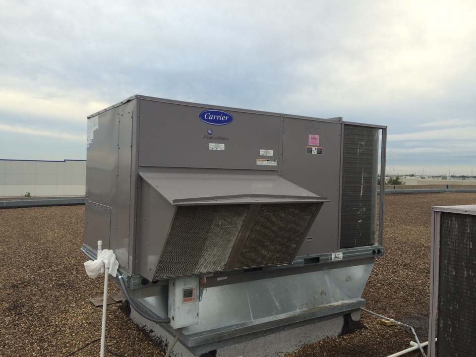 Stafford, TX - Replaced the defective condenser coil for circuit #1 in a 15 ton rooftoppackage unit.