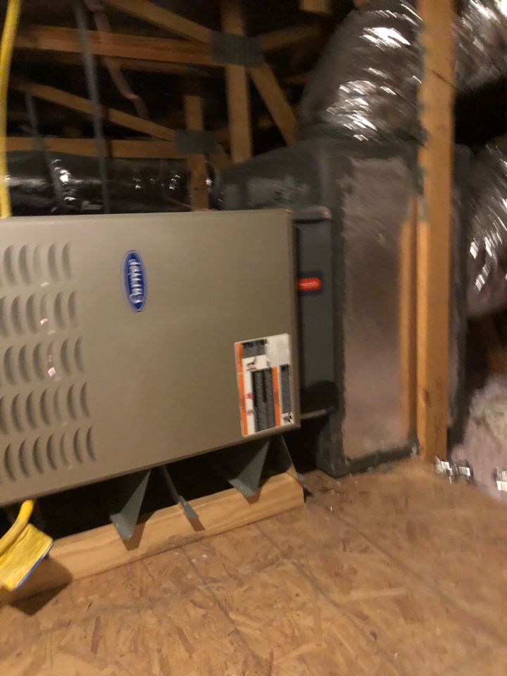 Helped home owner with heating issue.