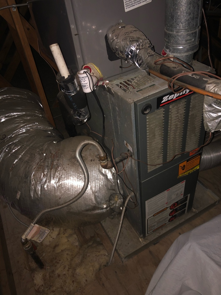 Helped home owner with indoor air quality solutions.
