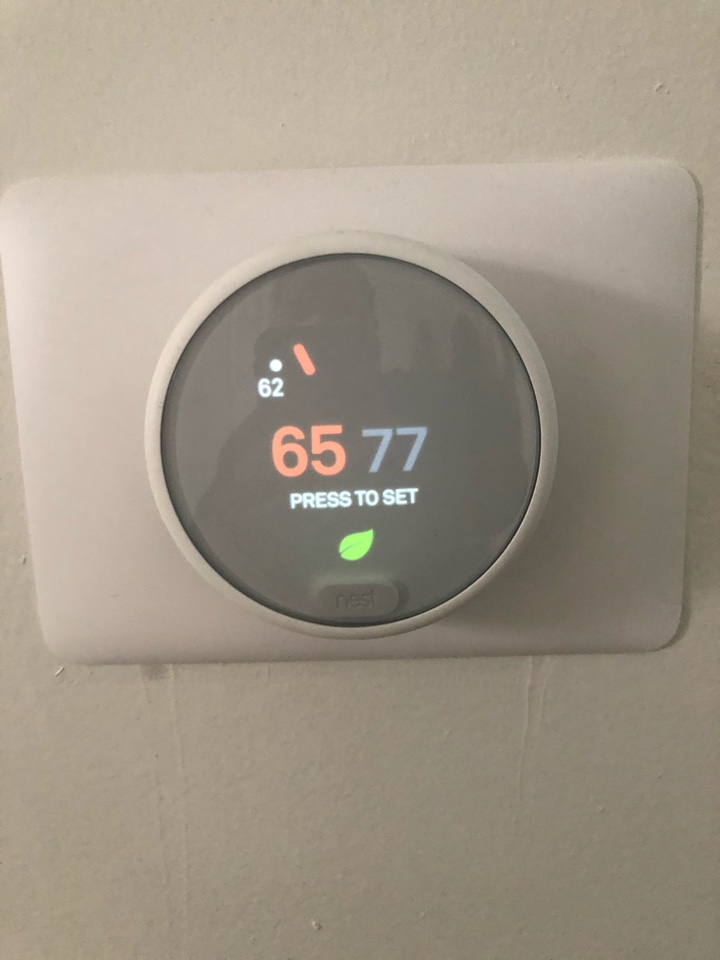 Helped home owner with faulty thermostat.
