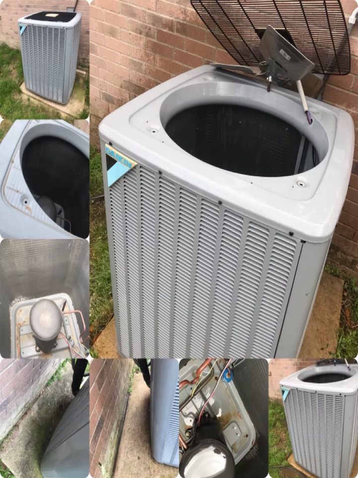 Alvin, TX - Ac and heat tune up, amped all major components and tighten all electrical, checked drains and coils, checked heat rise and temperature drop, checked pressures and broke down condenser and washed thoroughly.