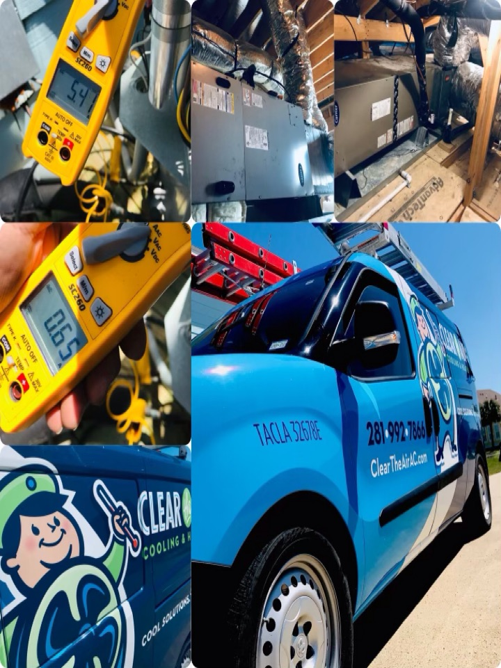 Galveston, TX - Ac tune up, amped all major components and tighten all electrical, checked coils and treated drain lines, checked filters and air flow, checked pressures and washed down condensers.