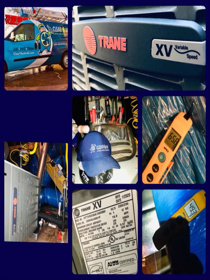 Alvin, TX - Ac tune up, amped all major components and tighten all electrical, checked coils and drains, checked pressures and washed down condenser.