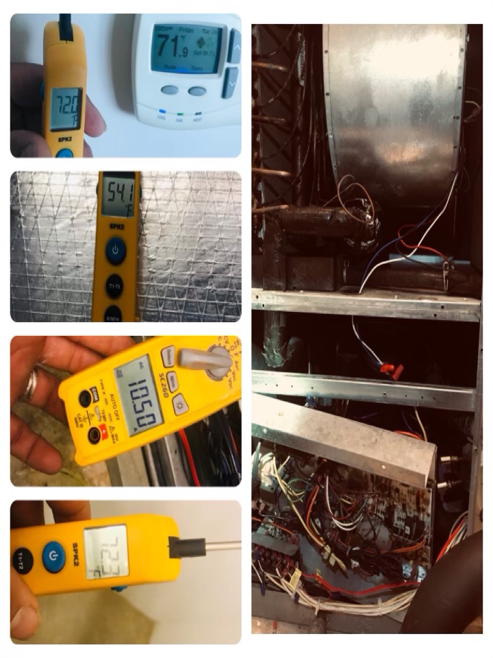 Galveston, TX - Ac tune up, amped all major components and tighten all electrical, coils and drains are treated, enhancements protections are helping equipment. Went over maintenance with customer.