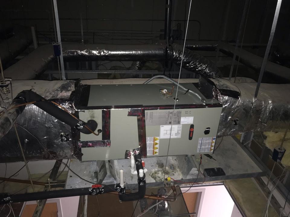 Alvin, TX - Installed airheadler