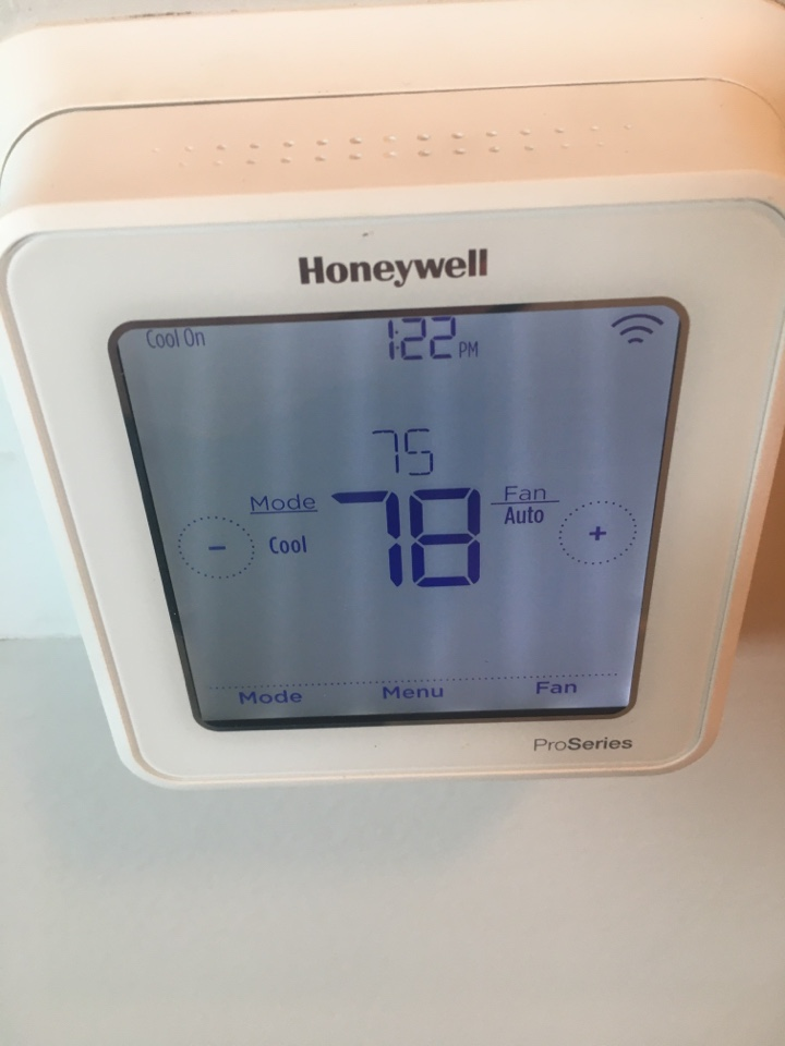 Galveston, TX - Helped home owner with new thermostat!