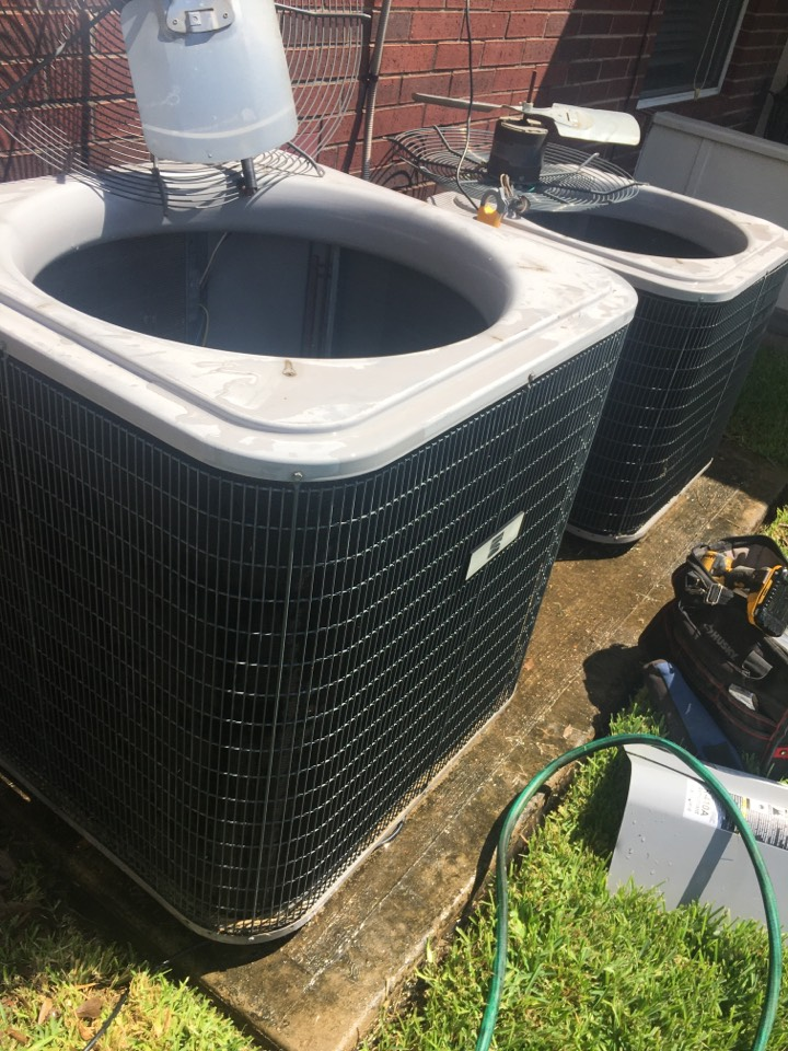 Missouri City, TX - Helped home owner with air conditioning preventative maintenance care.