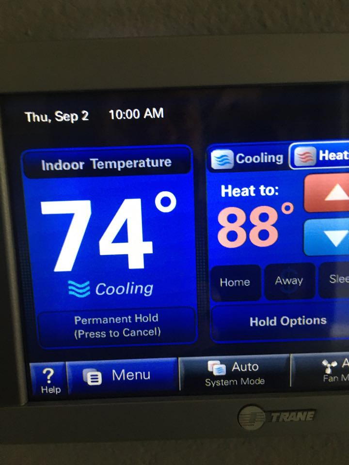 Manvel, TX - Helped home owner with heating preventative maintenance care on 20 SEER system.