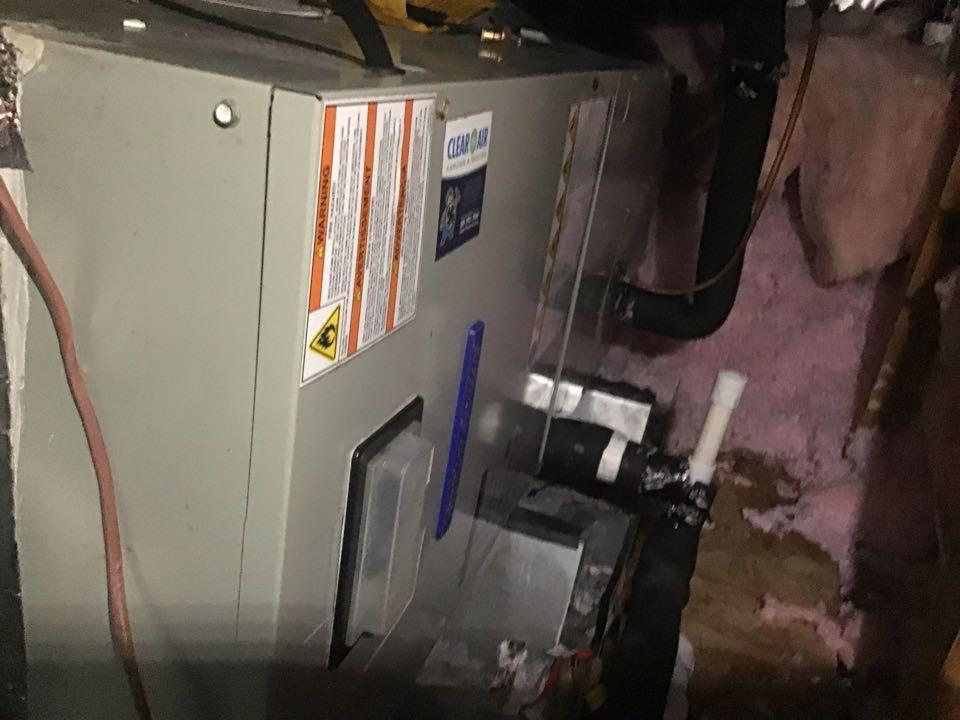 Installed warranty coil