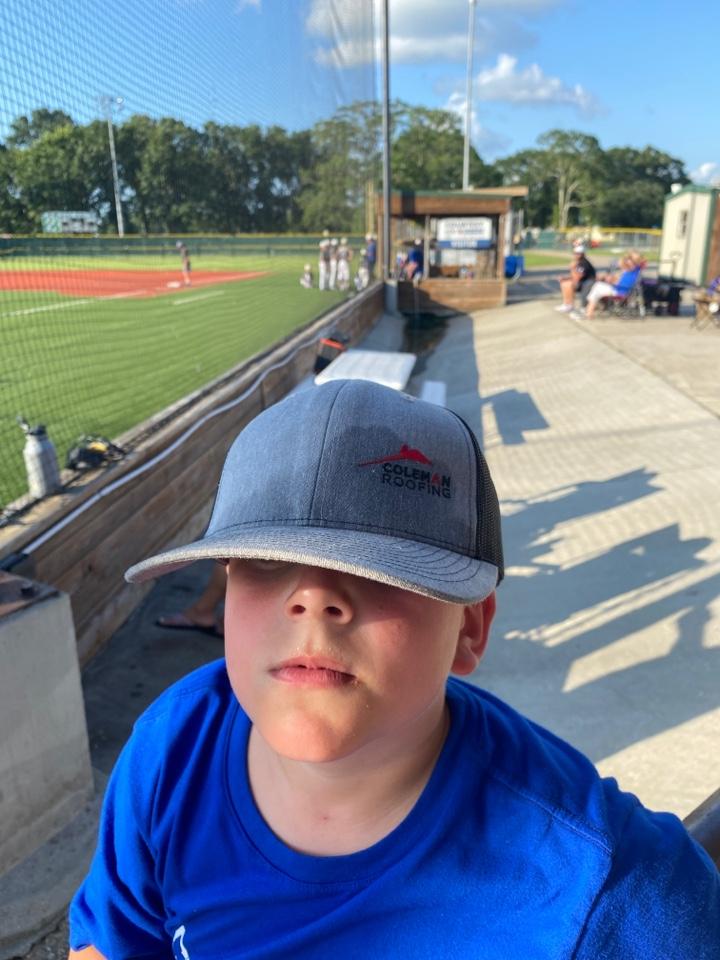 Carencro, LA - Coleman Roofing sponsorship for Savage 11u baseball.