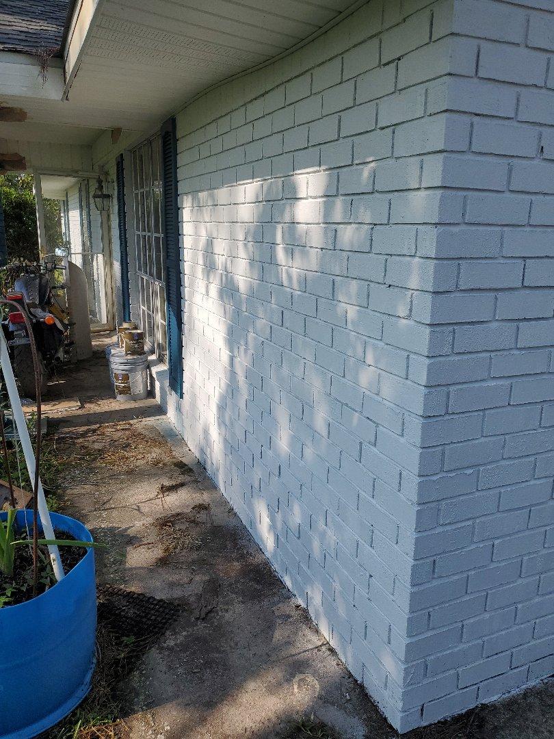 Sulphur, LA - Exterior Paint job in progress. We do more than roofs!