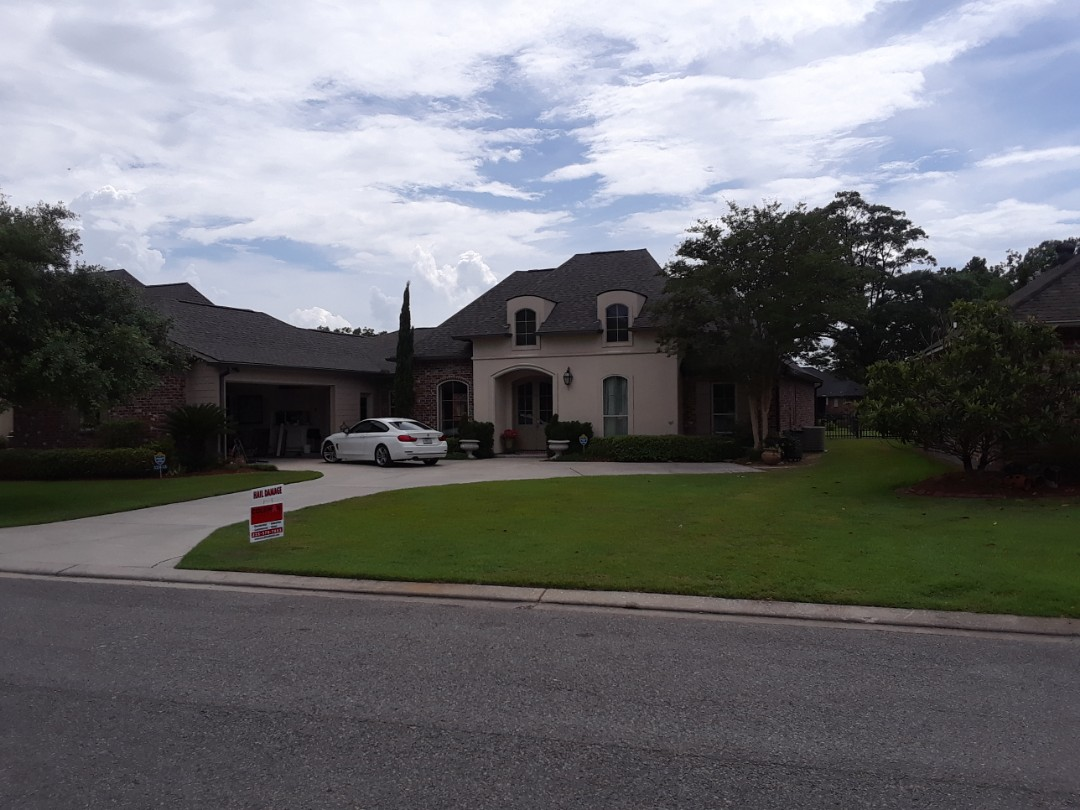 Geismar, LA - Finished roof replacement in Geismar
