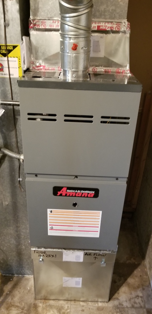 Colorado Springs, CO - Amana furnace installation