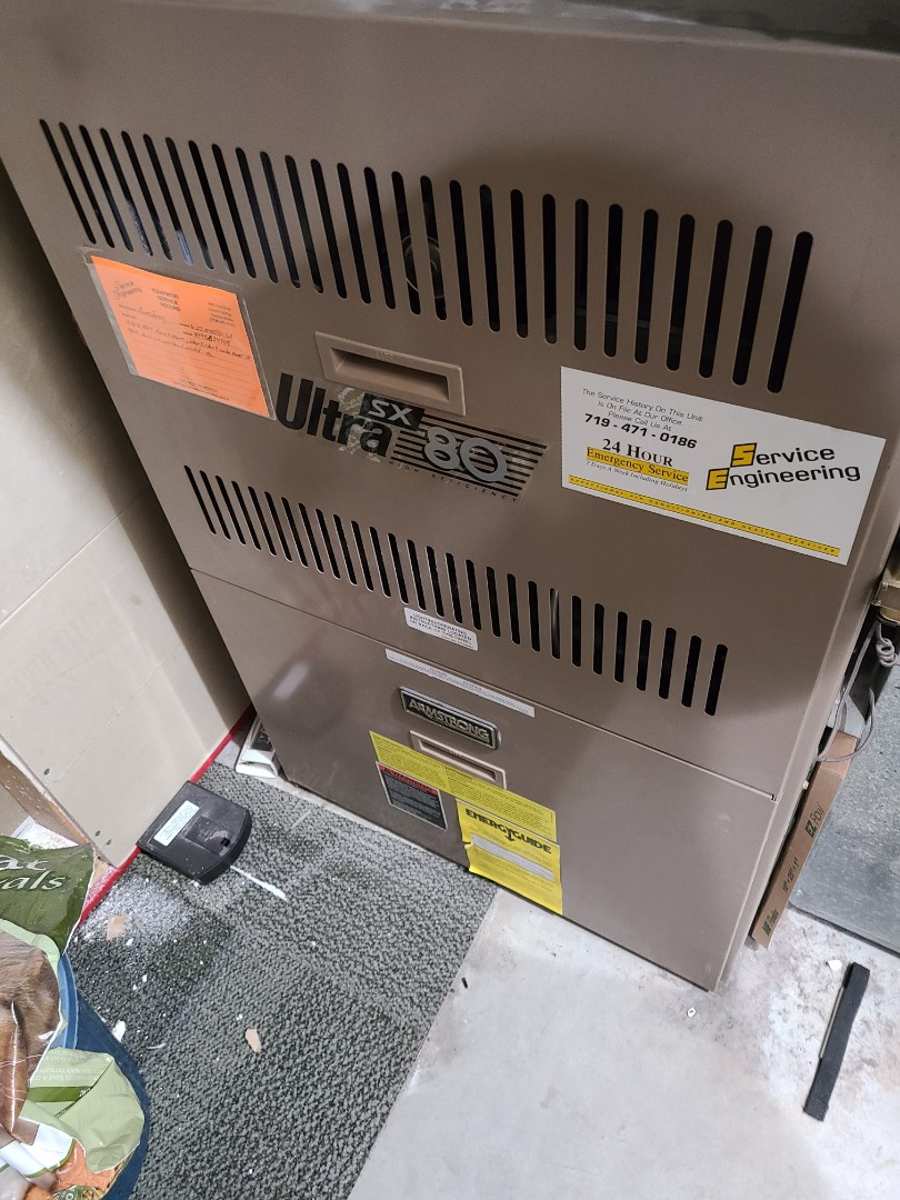 Colorado Springs, CO - Furnace not working.  Furnace not blowing warm air.