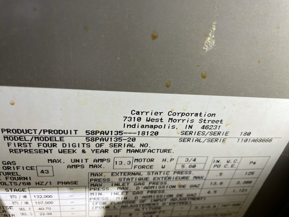 Monument, CO - Furnace stopped heating