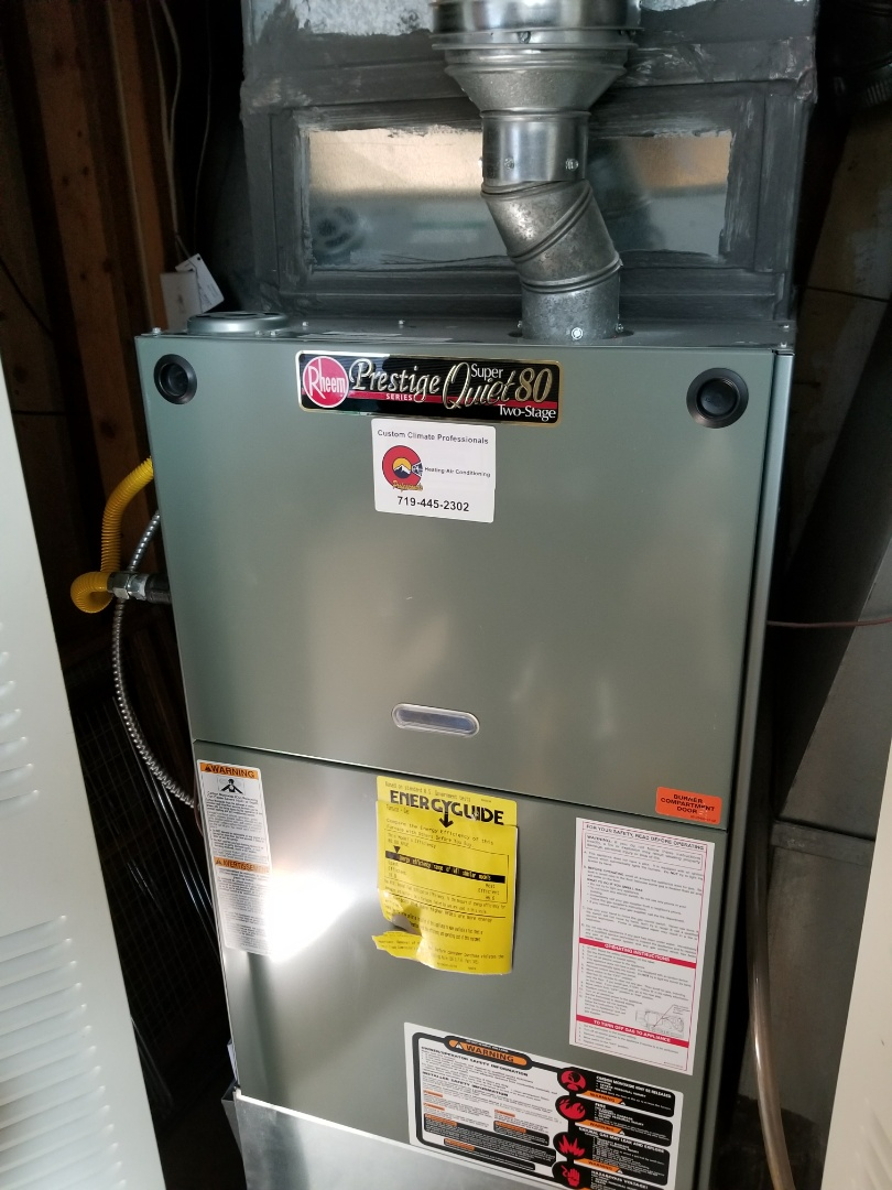 Manitou Springs, CO - Rheem furnace pressure switch malfunction fix