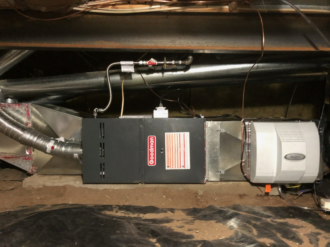Furnace And Air Conditioning Repair In Colorado Springs Co Goodman Humidifier Wiring Aprilaire Whole Home Thermostat