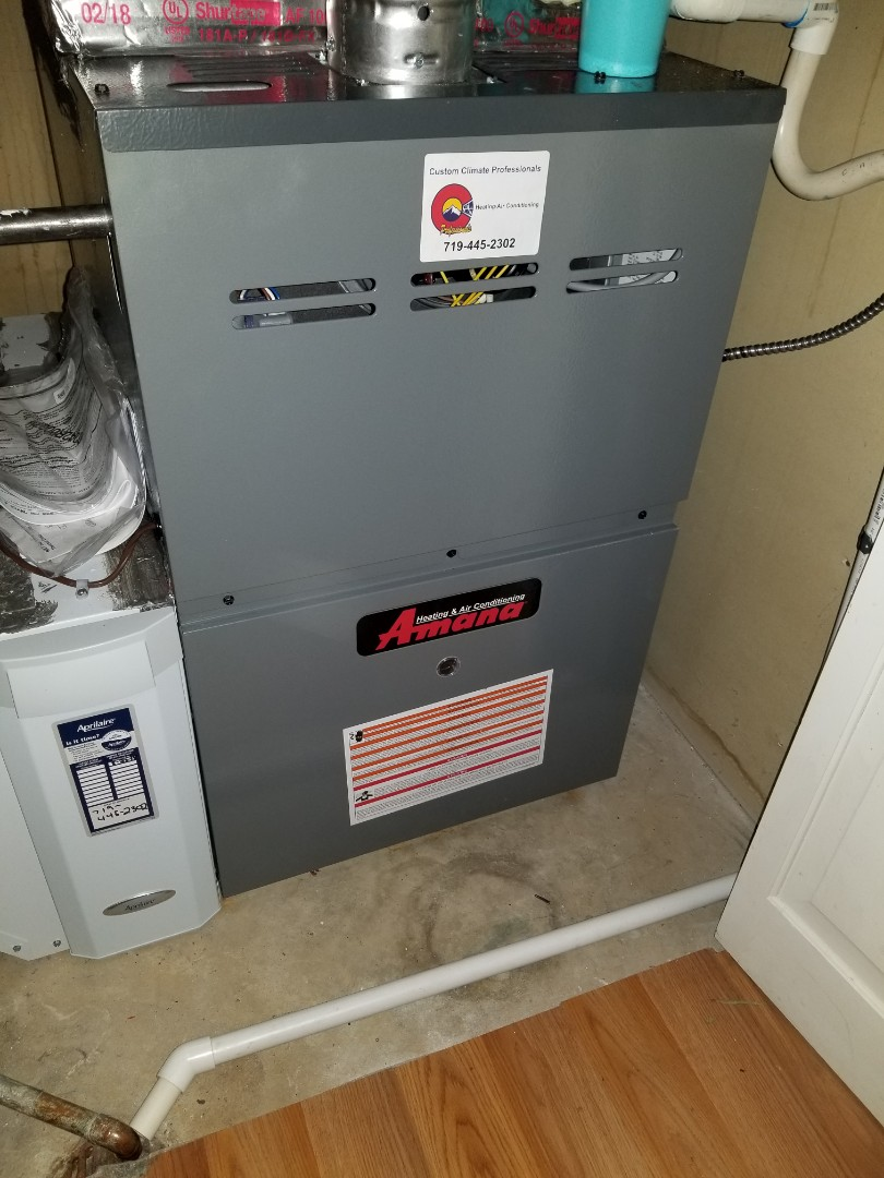 Furnace And Air Conditioning Repair In Colorado Springs Co Fridge Hvac Custom Job Blower Motor Wiring Help Amana Conditioner Install Aprilaire Cleaner