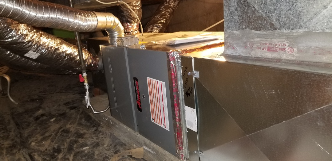 Colorado Springs, CO - Amana furnace installation with extended  warranty