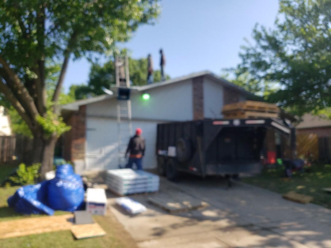 Fort Worth, TX - Re-roof atlas pinnacle pristine.
