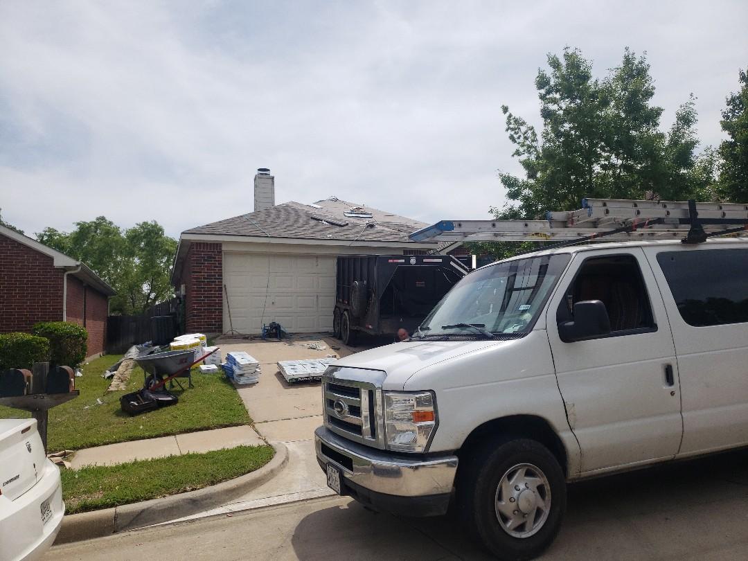 Fort Worth, TX - Atlas pinnacle pristine re roof in Fort worth.