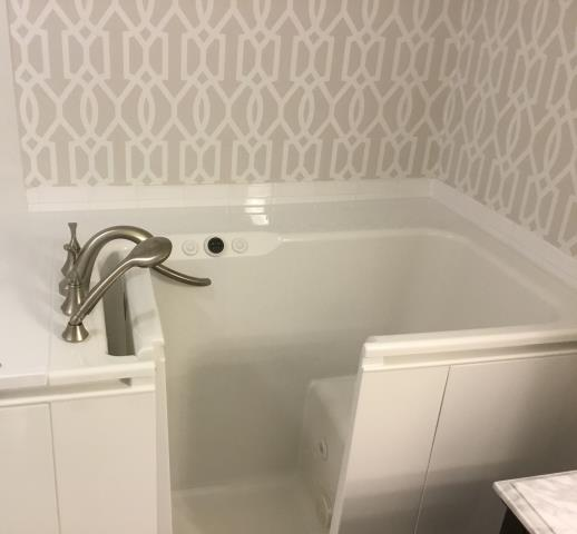 Levittown, NY - Step into a luxurious Kohler Walk-in Bath and experience all the benefits! From reducing pain and muscle aches to just getting a better night's sleep! Another great job by our Elite team! KOHLER  The Home Depot  #bathroomdesign #bathroomremodel #elitequality #designinspiration #kohlerwalkinbath #luxurylifestyle #longisland